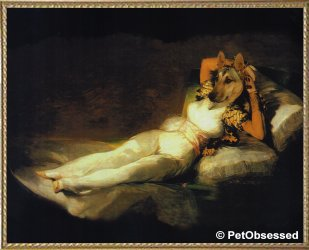 Francisco de Goya - Clothed Maja